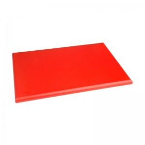 Tabla de corte de alta densidad extra gruesa roja Hygiplas j034