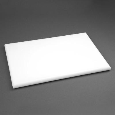 Tabla de corte de alta densidad extra gruesa blanca Hygiplas j038