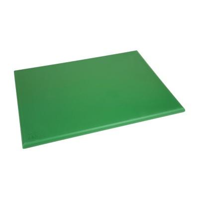 Tabla de corte de alta densidad extra grande verde Hygiplas j043