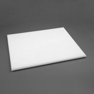 Tabla de corte de alta densidad extra grande blanca Hygiplas j044
