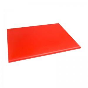 Tabla de corte de alta densidad extra grande roja Hygiplas j047
