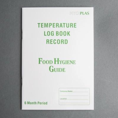 Libro de registro de temperaturas Hygiplas j201