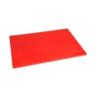 Tabla de corte de baja densidad estandar rojo Hygiplas j255
