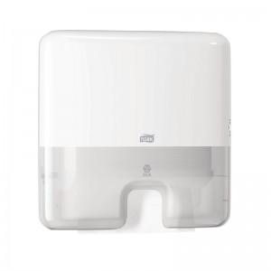 Mini dispensador toallas de mano Tork blanco db462