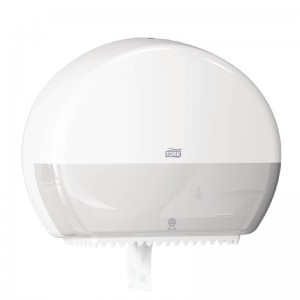 Dispensador papel higienico Tork Mini Jumbo blanco db463
