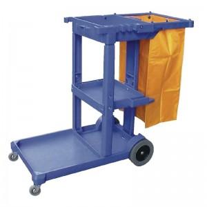 Carro de limpieza Azul l683