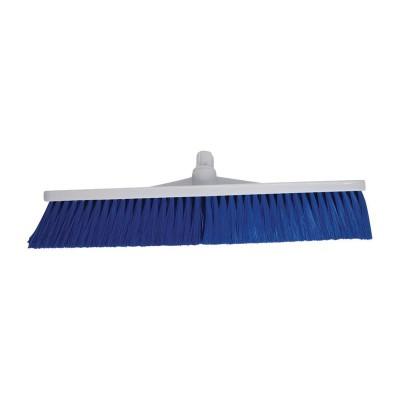 Cepillo de escoba higienico con cerdas blandas Azul l869