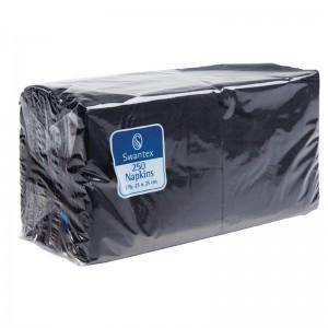 Servilleta coctail negra 2 capas. 2000 ud. cb666