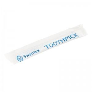 Palillos embolsados plastico (caja de 1.000). 1000 ud. cc460