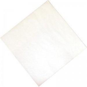 Servilletas de tisu profesionales blancas 400 x 400mm. 1000 ud. cc587