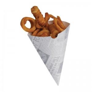 Cucurucho de papel para patatas. 1000 ud. ce230