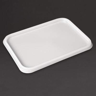 Tapa contenedores helado Interpack 2 y 4Ltr (Paquete 60). 60 ud. cs829