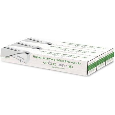 Rollo lamina reposteria Vogue para dispensador Wrap450 (Caja 3). 3 ud. cw205