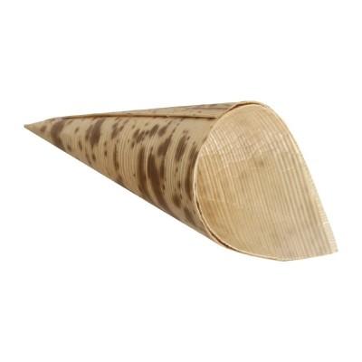 Cucurucho de bambu Fiesta 35()mm x 80mm (Juego 200). 200 ud. dk385
