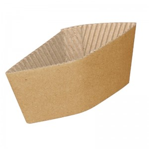 Banda papel coarrugado para vasos 227ml. 1000 ud. gd328