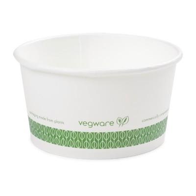 Contenedor biodegradable para sopa 341ml. 500 ud. gf046