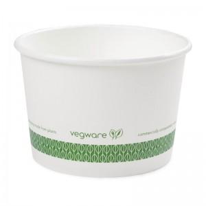 Contenedor biodegradable para sopa 455ml. 500 ud. gf047