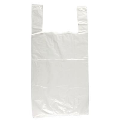 Bolsas de plastico blancas. 1000 ud. gg995