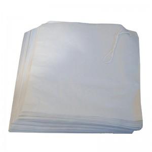 Bolsas papel blancas. 1000 ud. gh035