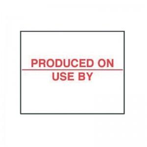 Etiquetas fabricado el j330