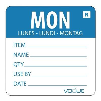 Etiqueta dia de la semana Lunes Vogue l066