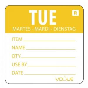 Etiqueta dia de la semana Martes Vogue l067