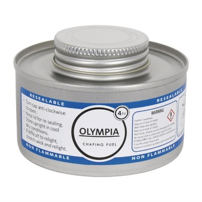 Combustible liquido para chafing 4 horas Olympia. 12 ud. cb734