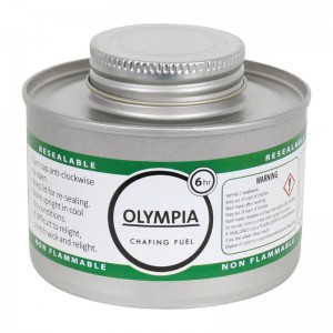 Combustible liquido para chafing 6 horas Olympia. 12 ud. cb735