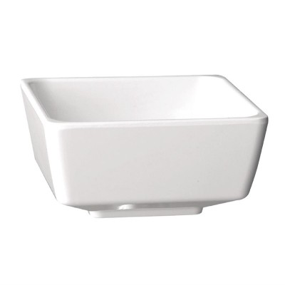 Bol Float cuadrado blanco 90 x 90mm APS gf092