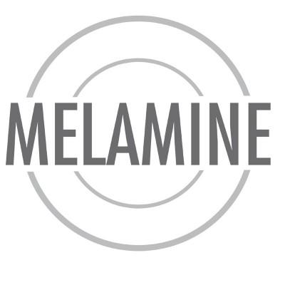 Bol Pure cuadrado de melamina blanco 140ml APS gf132