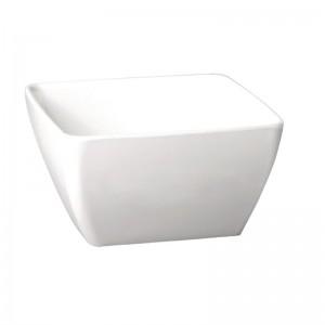 Bol Pure cuadrado de melamina blanco 1.5L APS gf136