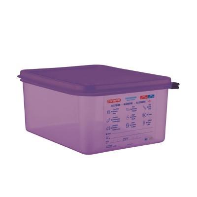 Hermetico Araven para alergenos GN 1/2 10Ltr con tapa cm789