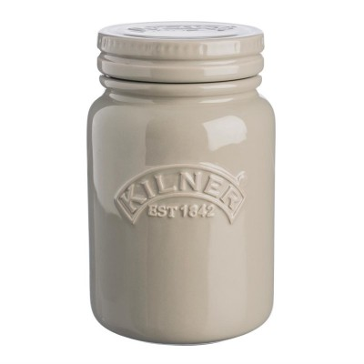 Tarro de ceramica Kilner gris 600ml cn673