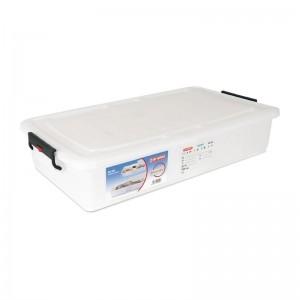 Caja de almacenamiento con tapa 40L Araven dn910