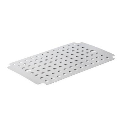Placa drenaje acero inox para bandeja carne 55x500x350mm gn798
