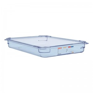 Contenedor hermetico Araven ABS azul GN 1/1 65mm gp588