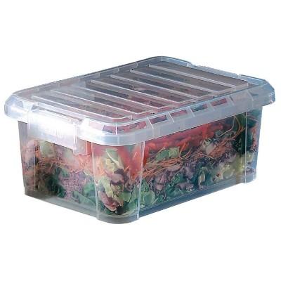 Caja de almacenamiento con tapa 9L Araven j246