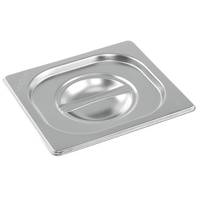 Tapa Vogue acero inoxidable Gastronorm 1/6 k993