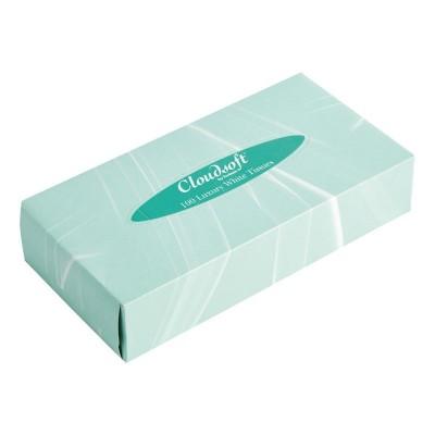 Caja de pañuelos rectangular. 36 ud. cf120