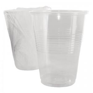 Vasos de plastico desechables 255ml. 500 ud. cg767