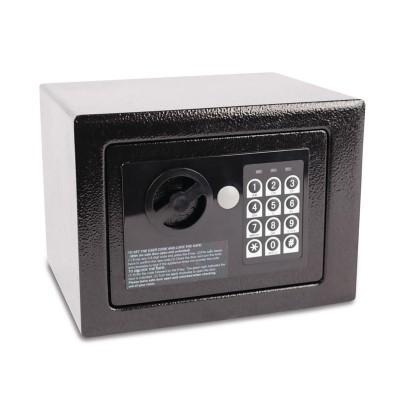 Caja fuerte mini habitacion hotel negra Bolero gc607