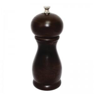 Molinillo de pimienta sal de madera oscura 150mm Olympia ce333
