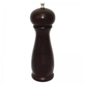 Molinillo de pimienta sal de madera oscura 205mm Olympia ce334