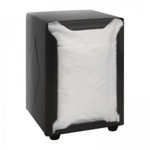 Dispensador servilletas Olympia doble cara negro 120(Al)x90x107mm cn753