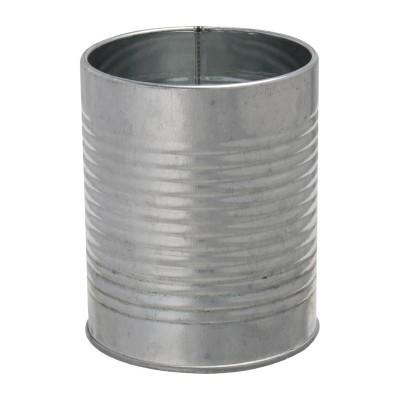 Lata presentacion Olympia acero galvanizado metalizado 90()x110(Al) cp497