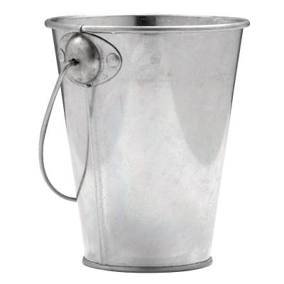 Cubo de acero galvanizado dm209
