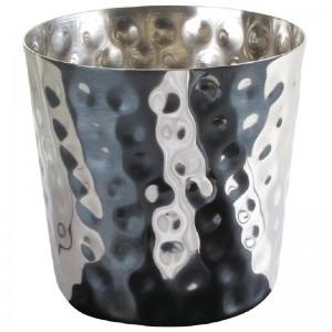 Cubo de acero inoxidable para fritos dm210
