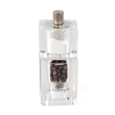 Salero y pimentero molinillo Olympia acrilicos - 90(Al)x40(dia)mm gm235