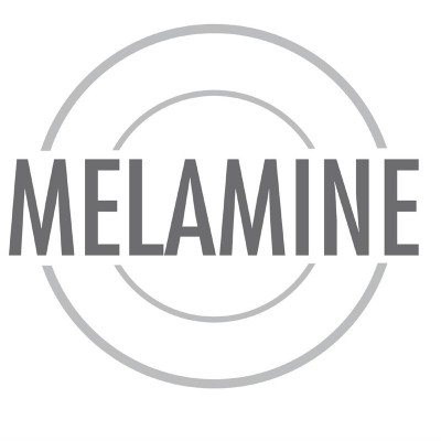 Cenicero negro de melamina p842