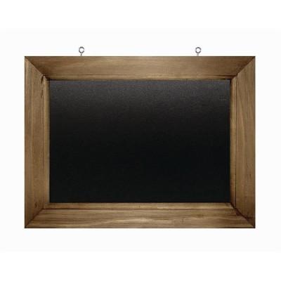 Pizarra de pared de marco de madera 300x 400mm Olympia gg106